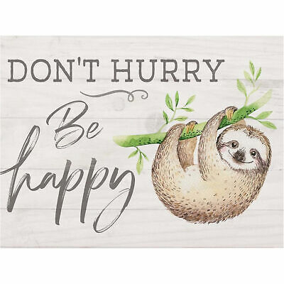 Don't hurry be happy [1]