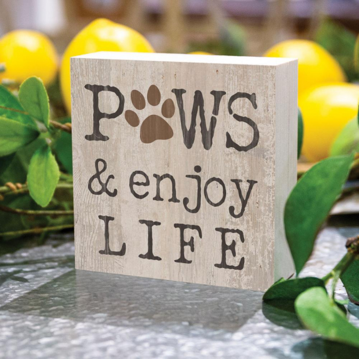 Paws and enjoy life [2]