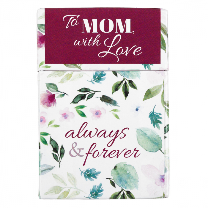 Set carduri cu verset (limba engleza) - To Mom, with Love