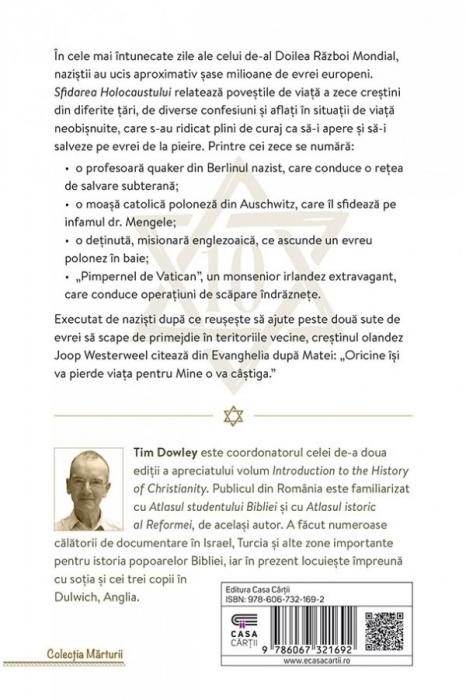 Sfidarea Holocaustului. Zece crestini curajosi care i-au ajutat pe evrei 1