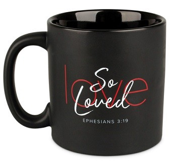 Cana din ceramica - Ephesians 3:19 (So Loved) 0
