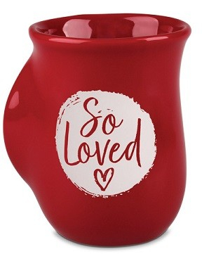 Cana din ceramica - 1 John 4:7 (So Loved) - Handwarmer 0