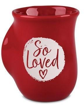 Cana din ceramica - 1 John 4:7 (So Loved) - Handwarmer