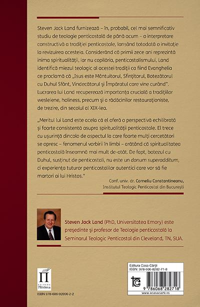Spiritualitate penticostala. O pasiune pentru Imparatie 1