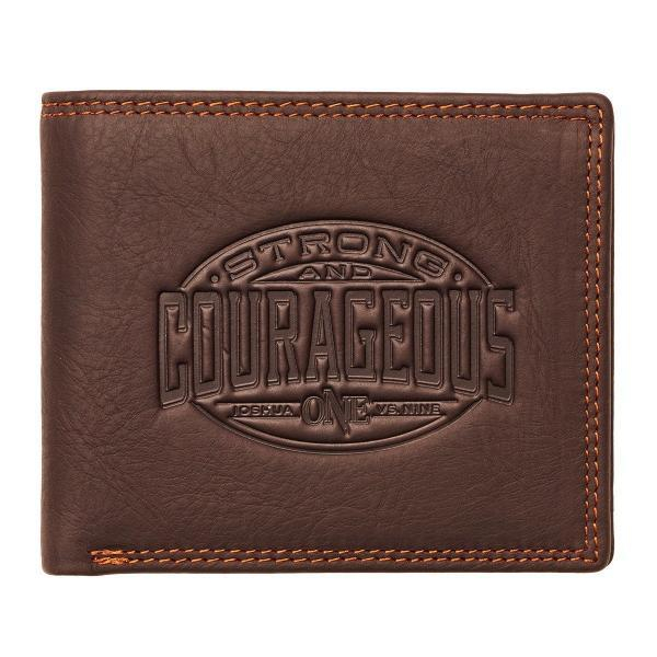 Strong and courageous - Embossed [6]
