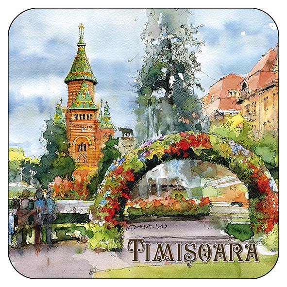 Suport pahar Timisoara 3 0