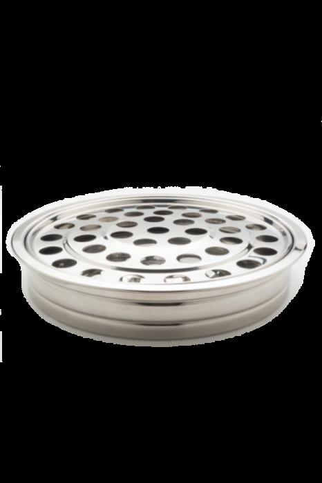 Tava pentru pahare - MODEL 2 - argintiu lucios 0