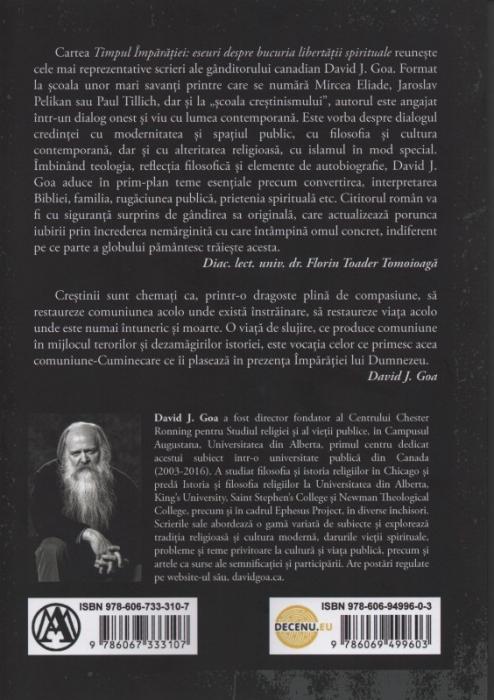 Timpul Imparatiei: eseuri despre bucuria libertatii spirituale 1