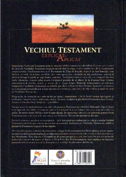 Vechiul Testament explicat si aplicat 1