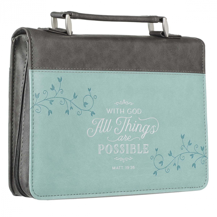 With God all things - LuxLeather [3]