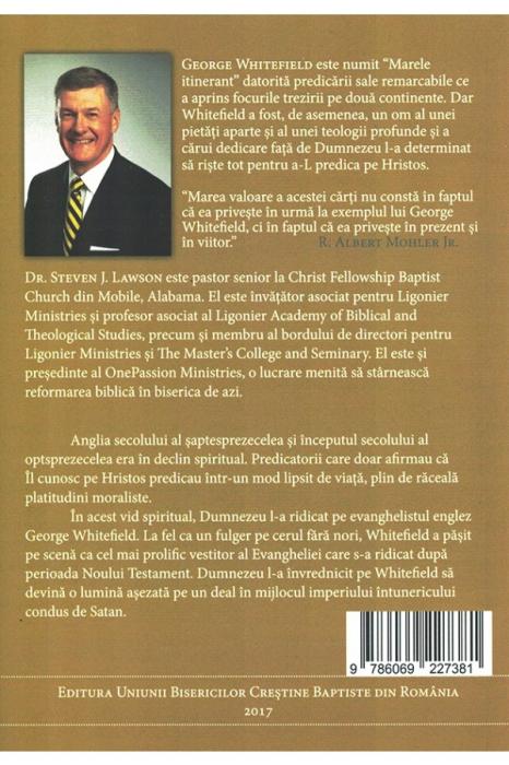 Zelul evanghelistic al lui George Whitefield 1