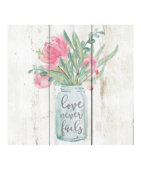 Love never fails [0]