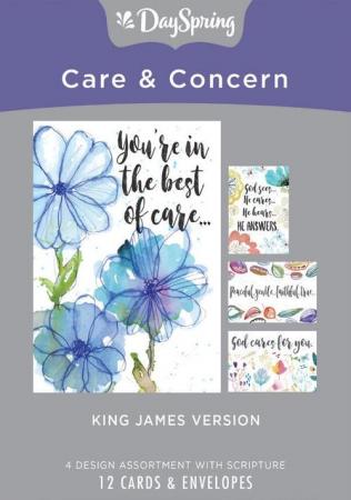Care and Concern - KJV scripture [0]