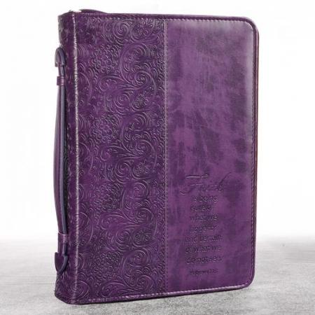 Faith - Purple - LuxLeather [0]
