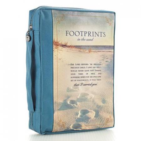 Footprints - Blue - Polycanvas [0]