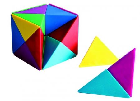 Set 24 magneti cub Tangram0