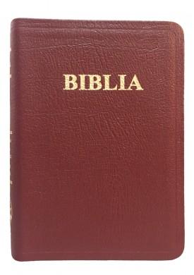 Biblie mica de lux, fara fermoar, cu margini aurii si index de cautare, VISINIE [0]
