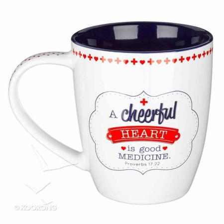 A cheerful heart is a good medicine [1]