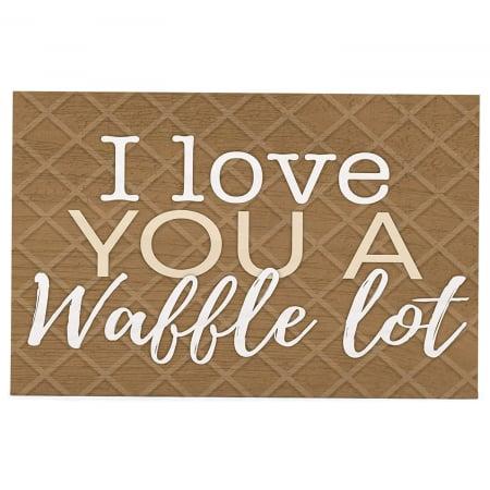 I love you a waffle lot [0]