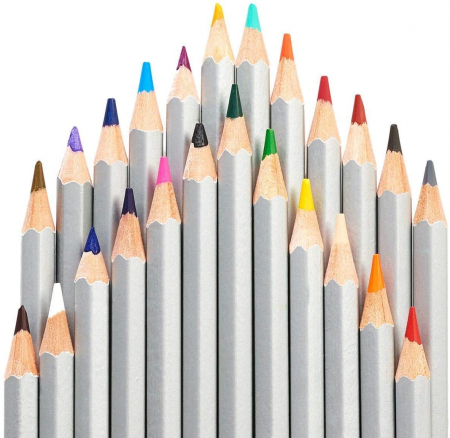 Set of 24 pencils incl. silver and gold [2]