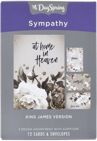 Sympathy - Black and white - KJV text [0]