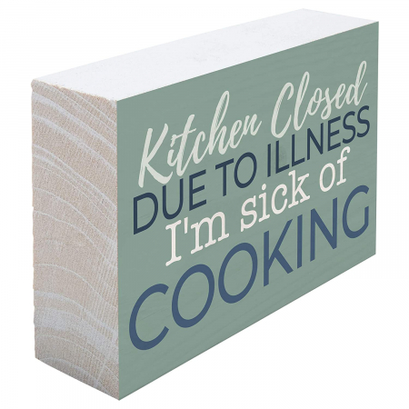 Kitchen closed due to illness [4]