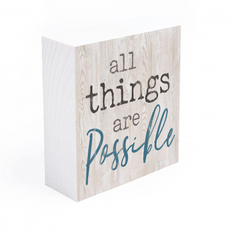 All things are possible [4]