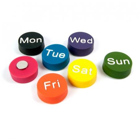 Magnet - zilele saptamanii - WEEKDAYS (7 buc/set)0