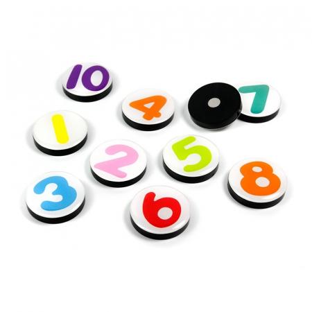Magnet - 1-10 (10 buc/set)0