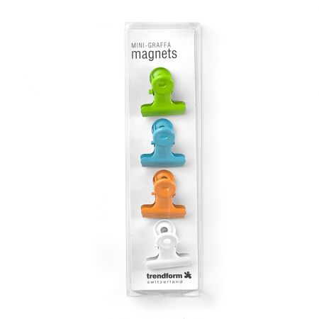 Magnet - clips agrafa color - COLOR GRAFFA (4 buc/set)1