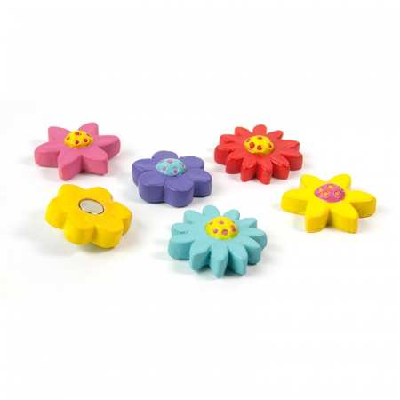Magnet - FLOWER (6 buc/set)0