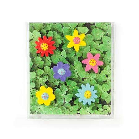 Magnet - FLOWER (6 buc/set)1