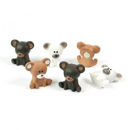 Magnet - BEAR (6 buc/set)0
