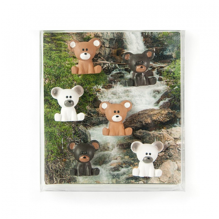 Magnet - BEAR (6 buc/set)1