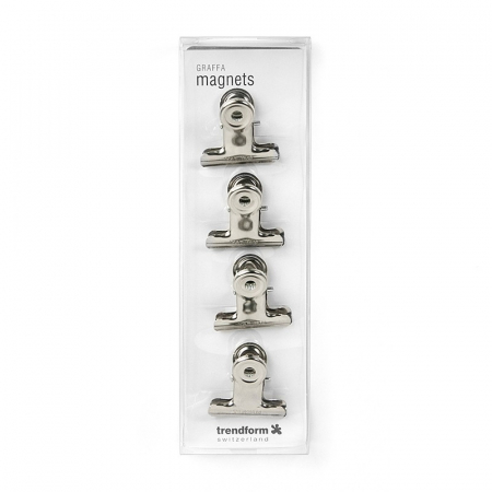 Magnet utilitar - CLIP GRAFFA CHROME (4 buc/set)1