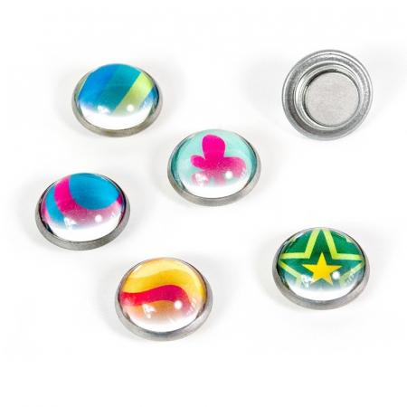 Magnet - rotund - Argus (6 buc/set)