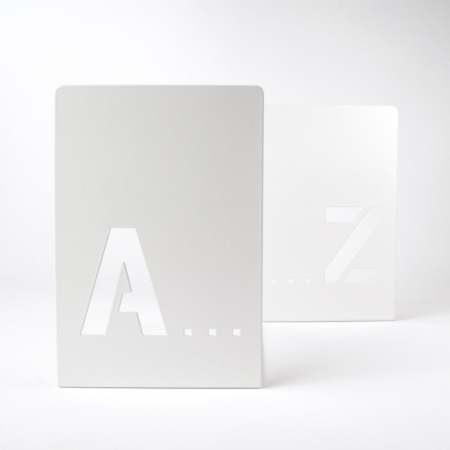 Bookend A-Z (2 buc/set)0