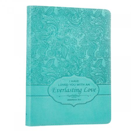 Jurnal din piele - Everlasting Love - Jeremiah 31:3