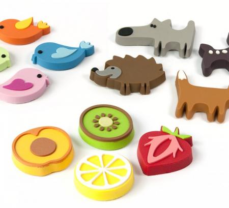 Magnet - fructe - FRUITS (4 buc/set) - TrendForm0