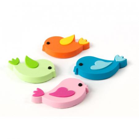 Magnet - pasari - BIRDS (4 buc/set)0