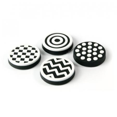 Magnet - alb si negru - BLACK&WHITE (4 buc/set)0