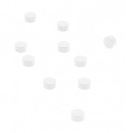 Magnet - STEELY WHITE (10 buc/set)0