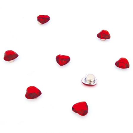Magnet - inimioare - MINI-HEART (8 buc/set)