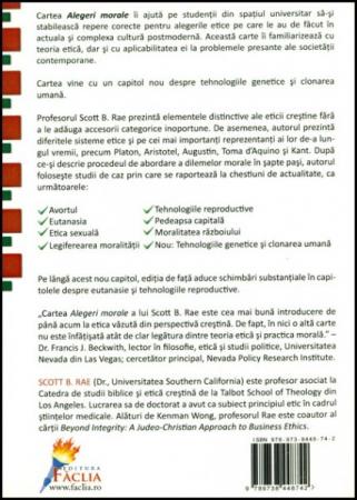 Alegeri morale - O introducere in ETICA1