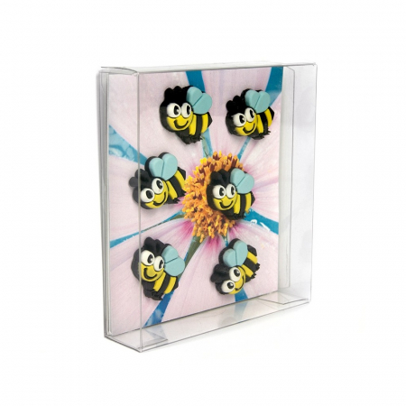 Magnet - HONEY BEE (6 buc/set)2