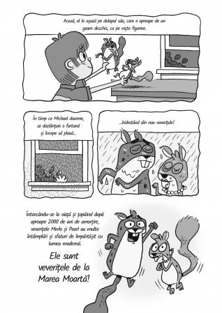 Baiatul intalneste veveritele - Veveritele de la Marea Moarta, vol. 24