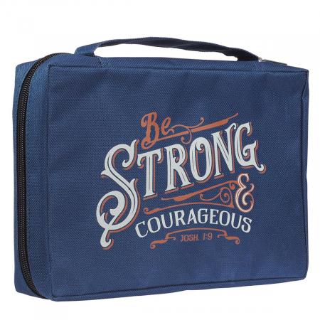 Be Strong & Courageous Navy Joshua 1:9 [3]