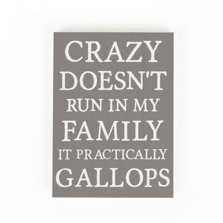 Crazy doesn't run in my family [3]