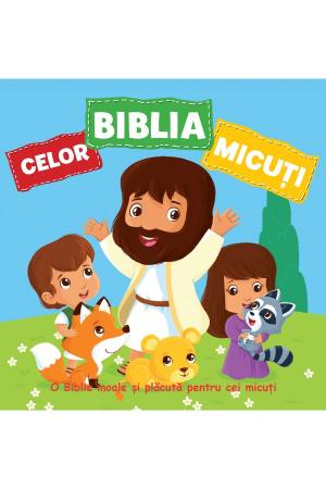 Biblia celor micuti - carte din material textil [0]