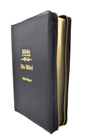 Biblie - editie bilingva romana-germana - neagra, PF - cu concordanta1